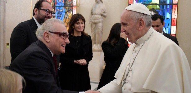 Em momento espiritualizado, Martin Scorsese tem encontro inédito com Papa #Cinema, #Clima, #Diretor, #Filme, #Livro, #M, #Novo, #Oscar, #PapaFrancisco http://popzone.tv/2016/12/em-momento-espiritualizado-martin-scorsese-tem-encontro-inedito-com-papa.html