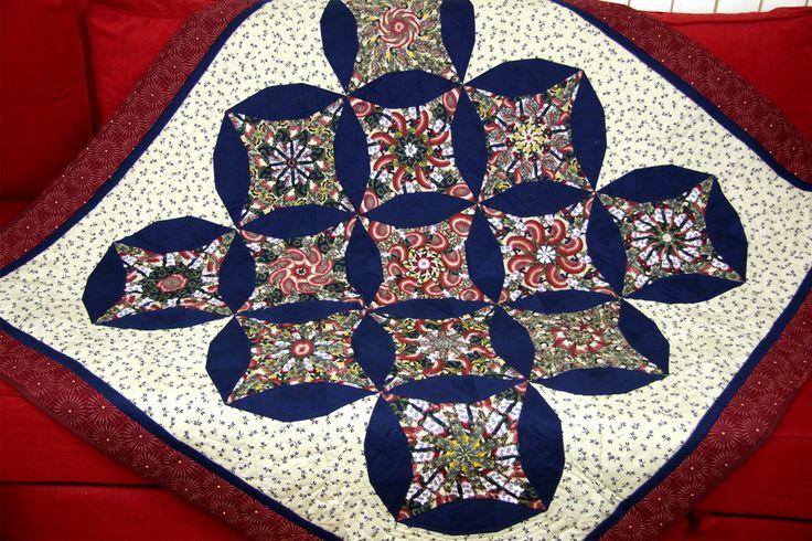 Asian Pattern Quilt Patchwork, Geisha Pattern, Japanese Quilt Pattern, Asian Blanket, Japanese Blanket, Asian Tablecloth von SolvejgMayerQuilts auf Etsy
