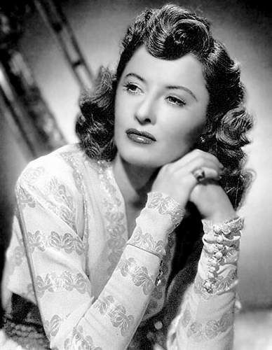 Barbara Stanwyck (1907 - 1990).  The famous 'look' that implied 'I just don't give a damn what you think'... One of my favorite actress', that actually never had an 'acting lesson' in her life. Just a 'natural'...!