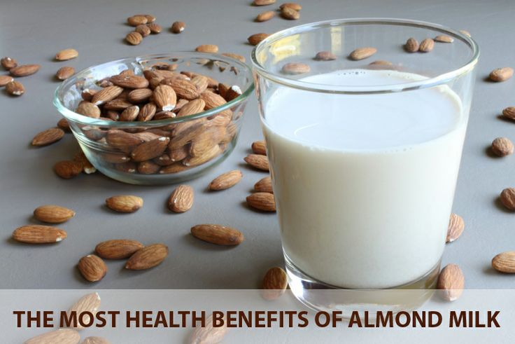 Healthy Food The Most Health Benefits of Almond Milk-4652