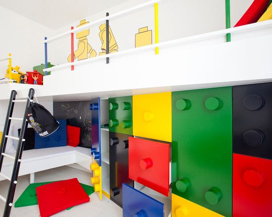 Decorating Ideas For A Kids Room With Legos