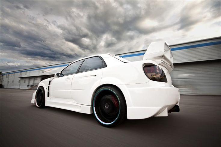 Subaru WRX -people underestimate this lil beasty