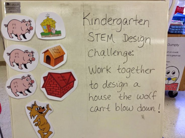 Welcome to Kindergarten!: 3 Little Pigs STEM Challenge