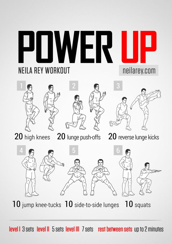 Power Up Workout | Neila Rey Workouts