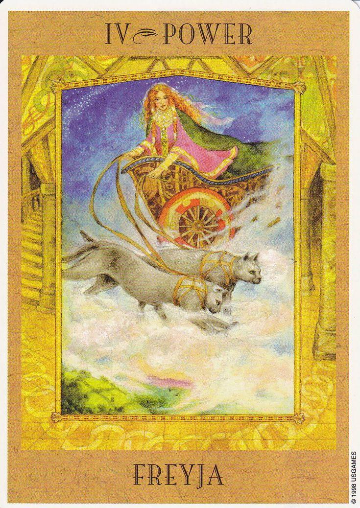 Goddess Tarot Decks: 14 Best FREYA Images On Pinterest