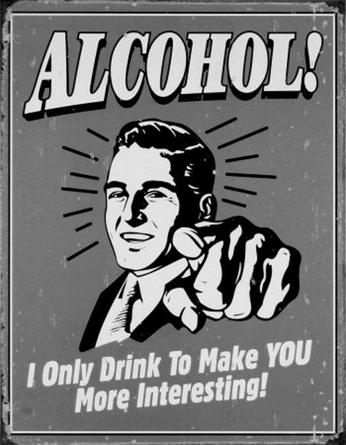 alcohol!