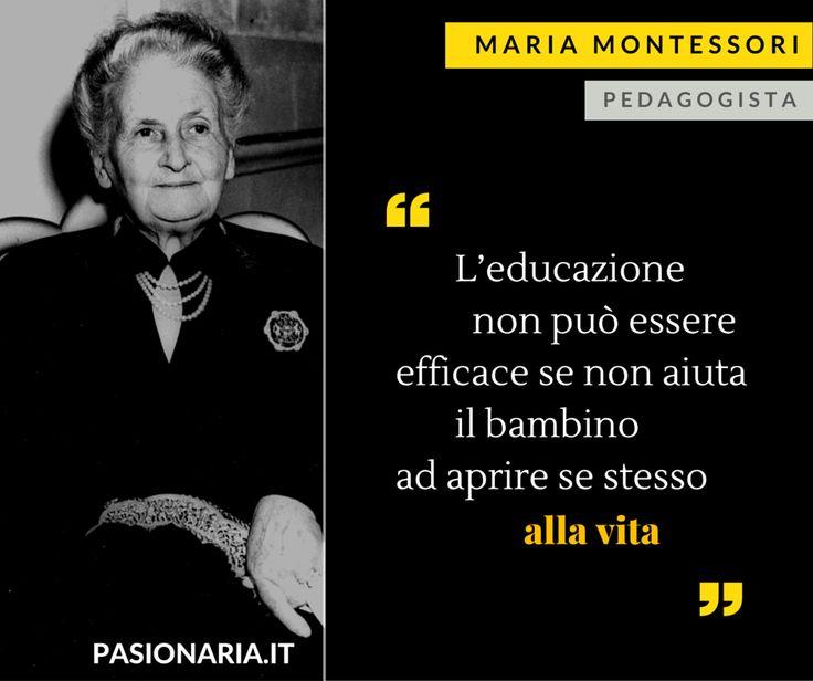 La pedagogista Maria Montessori è la donna scelta dalla nostra amica Anna in…
