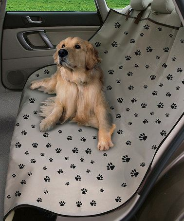 Look what I found on #zulily! Paw Print Waterproof Car Seat Cover by Etna Products #zulilyfinds