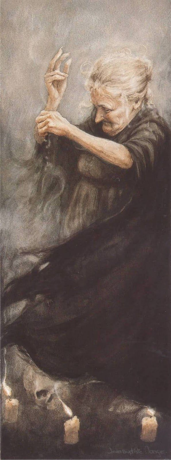 Enter the Bruja, the Old Witch. Growing up in New Mexico, I heard many tales of the power of the Bruja. Vale do Mago: Dia das Bruxas