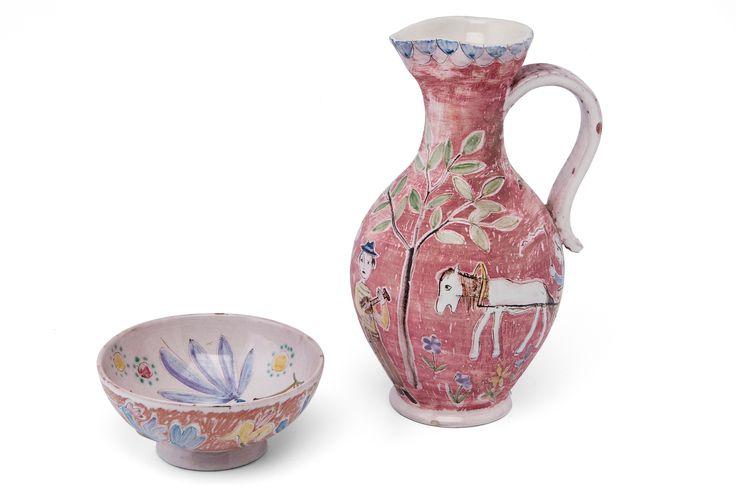 Rut Bryk 1916-1999 ceramics in POT AND BOWL
