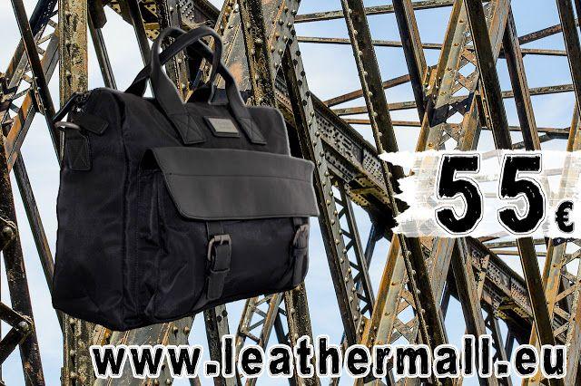 Προσφορές σε δερμάτινες τσάντες και πορτοφόλια: NEW: Επαγγελματική τσάντα