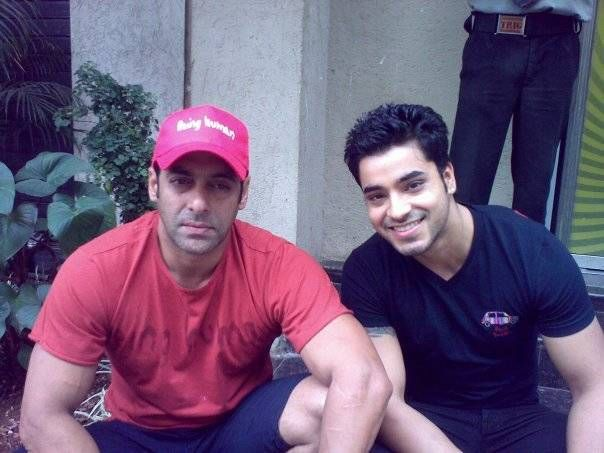 Gautam Gulati with Salman Khan