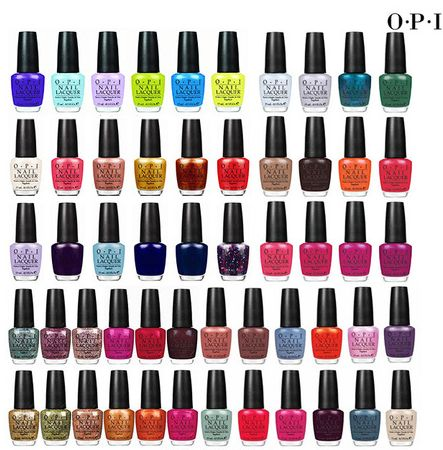 FIve Pack of OPI Nail Polish for $18 or $3.60 Each from $9!