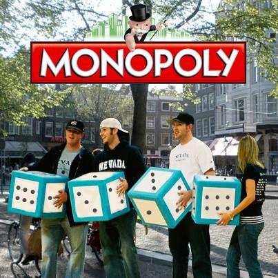 #Monoploy: Spanning, sensatie en gezelligheid voor jong en oud. Kijk op #bedrijfsuitje