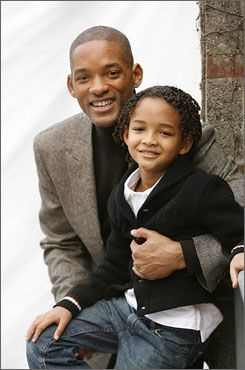 Will Smith and Jaden Smith. How cute