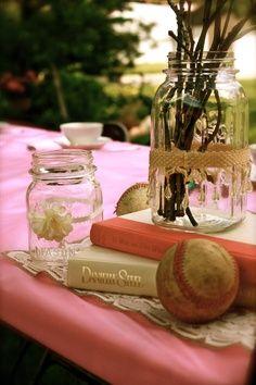vintage baseball wedding ideas | ... for an outdoor vintage tea party/baseball themed bridal shower
