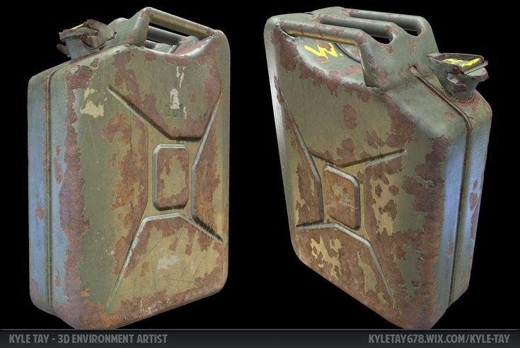 ArtStation - 1942 Gas Canister, Kyle Tay