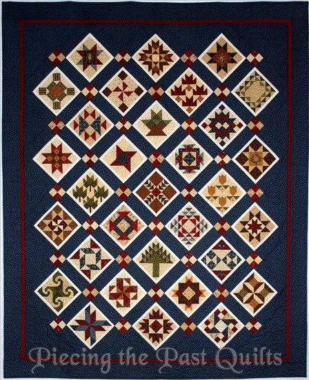 Peace and Healing Block of the Week Quilt - Piecing the Past Quilts Quilts Pinterest ...