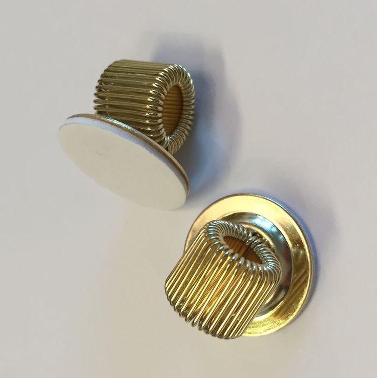 Pennhållare Självhäftande, guld, 5 st