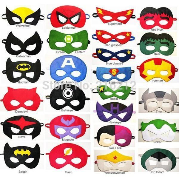 Afficher l 39 image d 39 origine masque super heros masque - Masque de super heros a imprimer ...