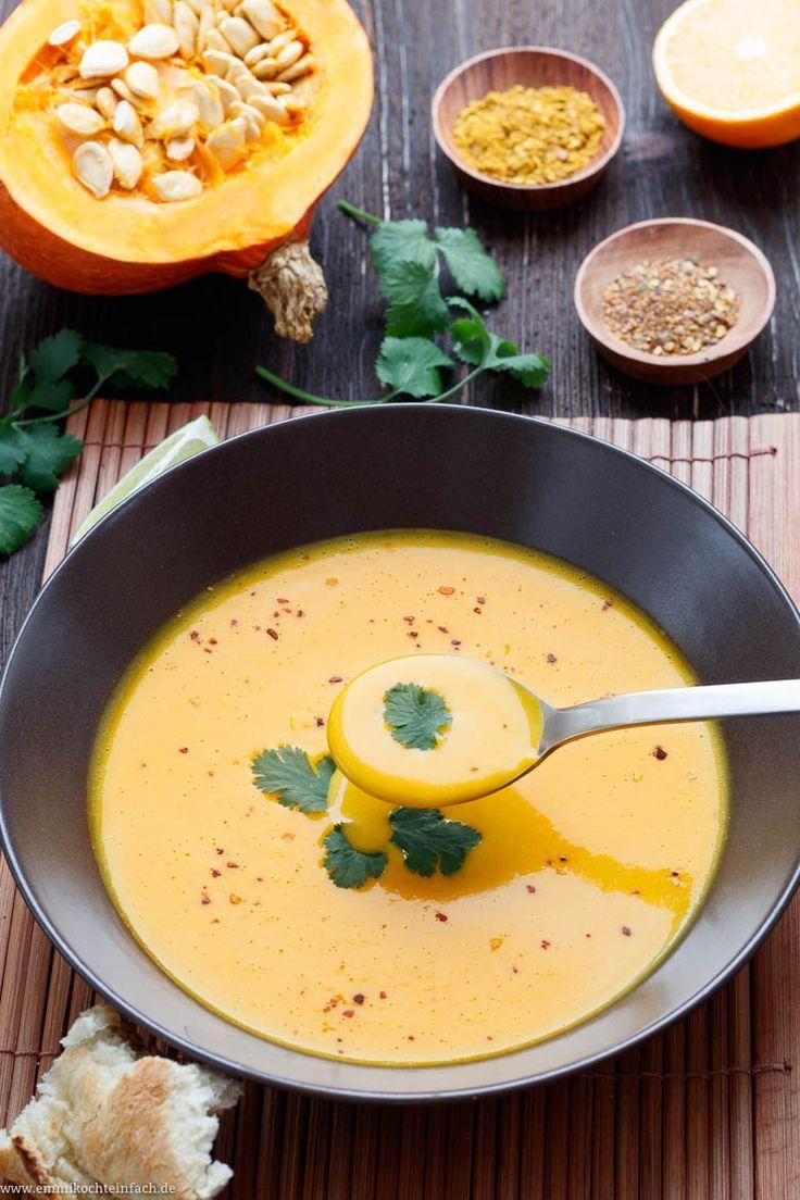 Kürbis Kokos Suppe – Pikant und asiatisch lecker