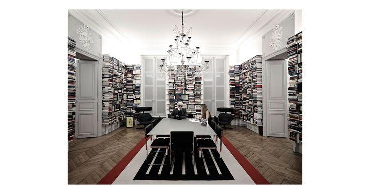 Karl Lagerfeld's Paris Apartment