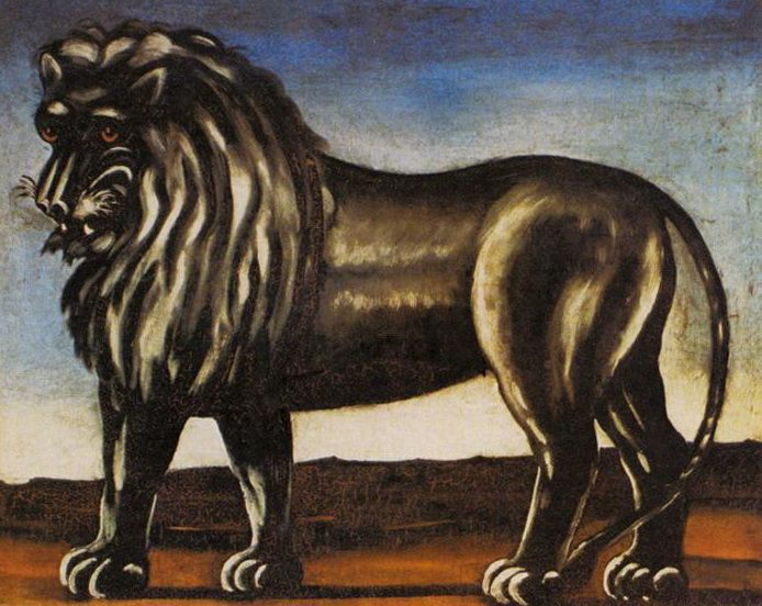 Black Lion, Niko Pirosmani