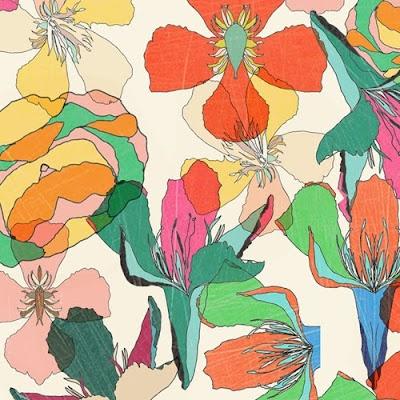 Floral Patterns, Floral Prints, Watercolors Floral, Flowers Stole My Heart, Tropical Floral, Colours Pattern, Colours Floral, Pretty Flower, Flower Pattern