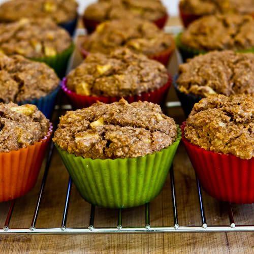 Low sugar apple walnut muffinsWalnut Recipe, Stop Eating, Lowsugar, Bran Muffins, Mothers Day, Kalyns Kitchen, Made From Scratch Low Sugar, Healthy Recipe, Wheat Bran