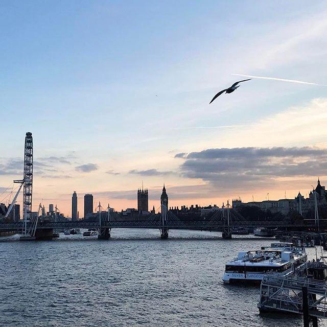 London looking gooood for the 1st day of #LFW  que por do sol hein! Vic Ceridono | Dia de Beauté