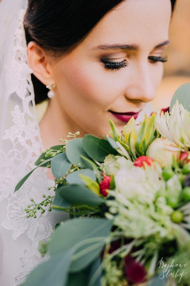 wedding / wedding bouquet / fot. Bajkowe Śluby