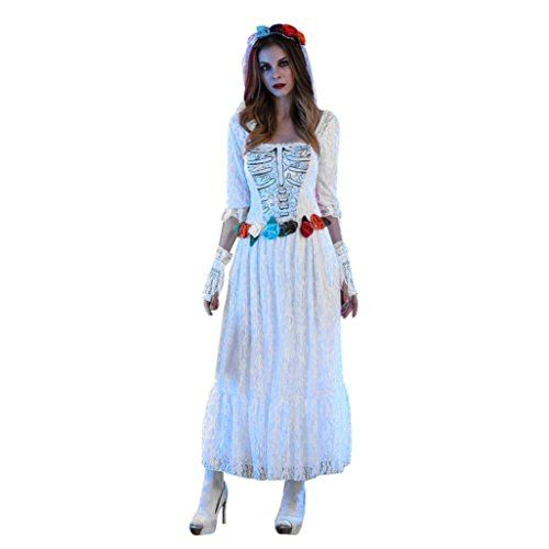 #Halloween Costume,Han #Shi #Sexy #Strapless #Lace #Corpse #Bride #Dress #Cosplay #Party #Gowns ❀Material:High Quality #Lace,Very Soft and Comfortable, Perfect for Autumn&Spring ❀O Neck & Full Sleeve & Ankle-Length & Charming ❀Charming & Novelty & Vogue Design & Modern Fit https://boutiquecloset.com/product/halloween-costumehan-shi-sexy-strapless-lace-corpse-bride-dress-cosplay-party-gowns/