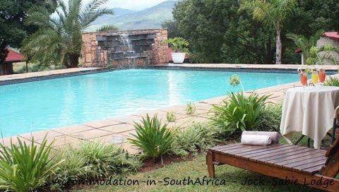 Beautiful pool at Jock-Sabie Lodge. http://www.accommodation-in-southafrica.co.za/Mpumalanga/Sabie/JockSabieLodge.aspx