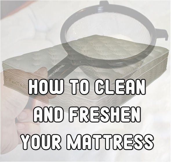 how to clean up vomit from mattress
