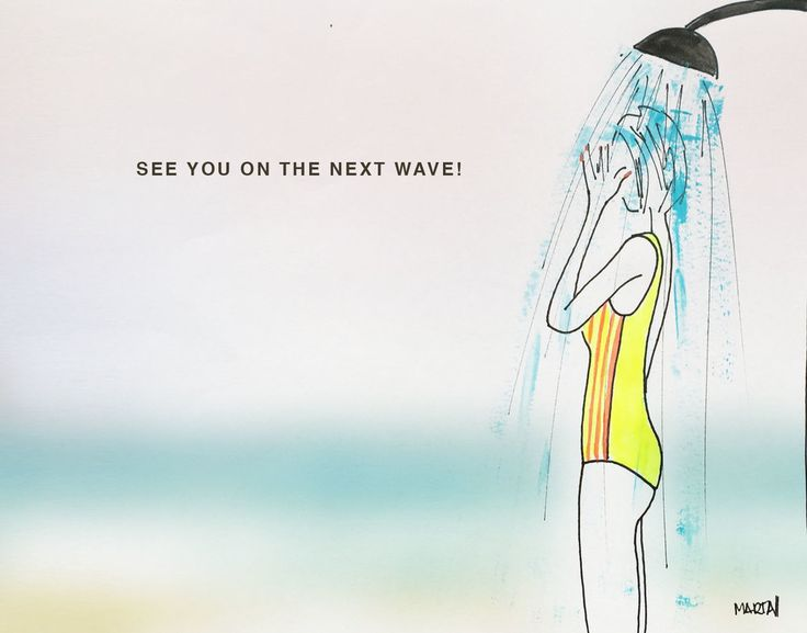 Salt, surf, water, waves... see you by Marta Scupelli • www.stripe-me.com