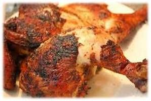 How to Smoke a Hickory Chicken Hickory wood is a dense and hard wood that promotes a bold flavor. Since some people think hickory by itself can be overwhelming to the light chicken meat, we recommend using a combination of a fruit wood like apple, cherry or pecan and burn half and half for a balance of smoky flavor that pairs great with chicken.