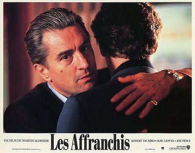 ROBERT DE NIRO RAY LIOTTA LES AFFRANCHIS GOODFELLAS 1990