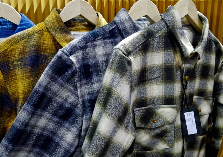 Plaids play an important role, with soft-handle flannels and plaid pattern mixes working well for city grunge looks.