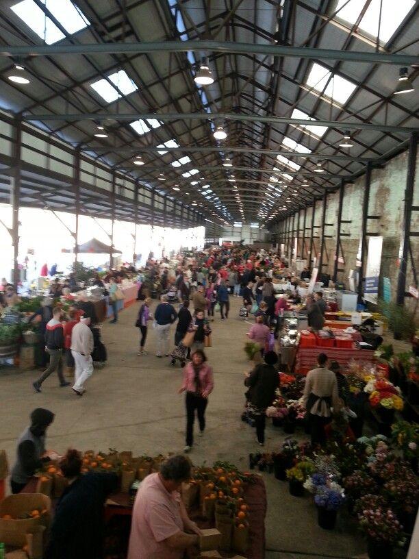 Farmers market entry on Saturday