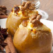 Gepofte aardappel met garnalen