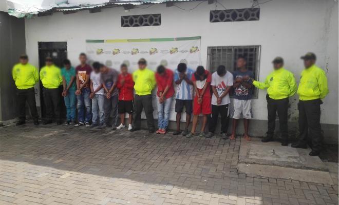policia desarticula estructura delincuencial dedicada al hurto en montelibano