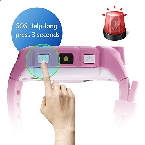 Activity Bracelets Fitness - 1.22#8243; Touch Kids GPS Tracker Smart Watch With Camera SOS Call Anti-lost Alarm Pedometer Sport Fitness Activity Round Wristwatch Bracelet Smartwatch for Children Boys Girls (Cute Pink) KINDLY NOTE: 1.This watch can not support ATT and Verizon Sprint. If you want to buy another SIM card,we recommend the cards below: T-Mo - The benefits of wearing these smart bracelets are not only in your comfort, but also in that they are able to control all your physic...