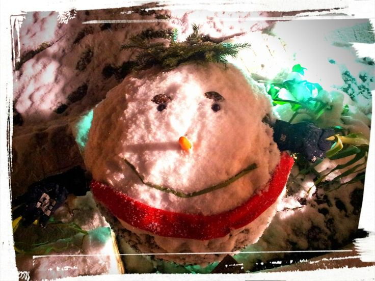 Happy new year! (A whole more creative than the snowman!)