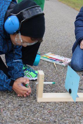 Farbkanone - Kunstunterricht Ideen Zeichnen Schule