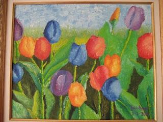 los tulipanes - los dibujos de jose angel barbado