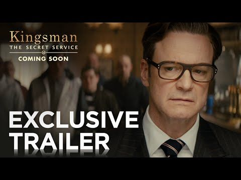 """Kingsman: The Secret Service"" New Trailer — Comic Book-Spy Actioner starring Colin Firth, Samuel L. Jackson and Taron Egerton"