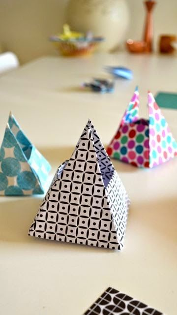 ingthings: A sunny day, at last & an origami box