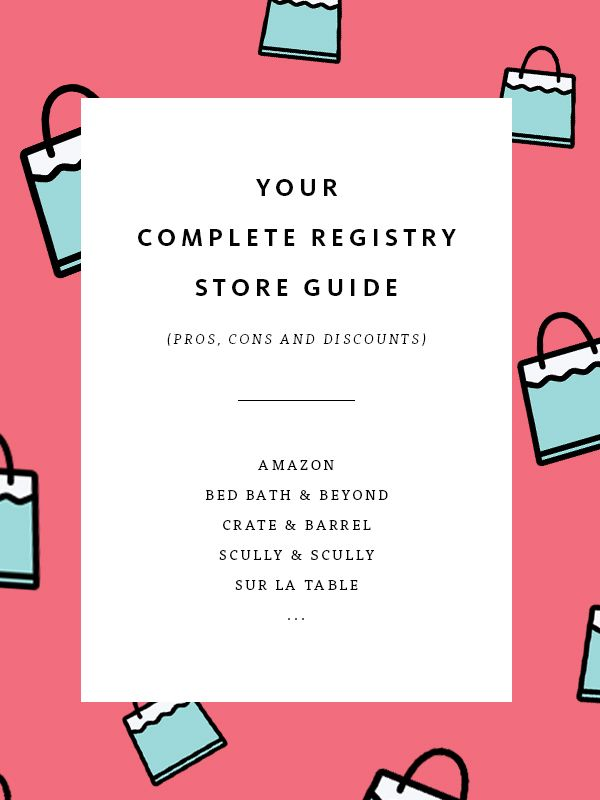 57 Best Places To Register For Wedding Gifts