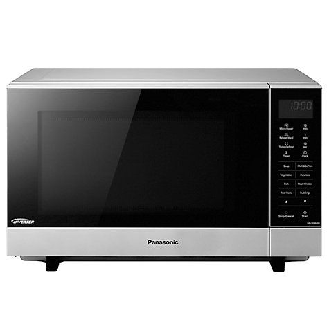 Buy Panasonic NN-SF464M Microwave Oven, Silver Online at johnlewis.com