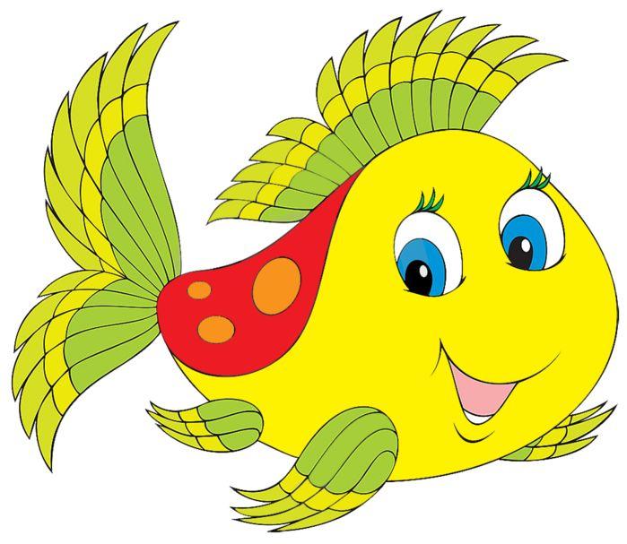 Картинки животных для детей рыбки